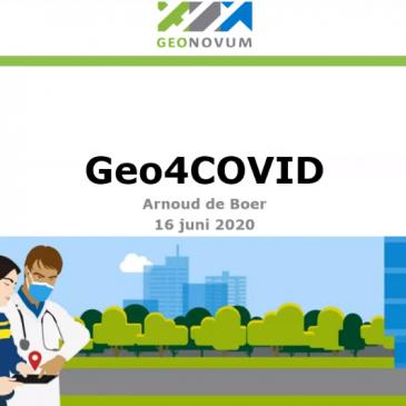 Geo-informatie & COVID-19